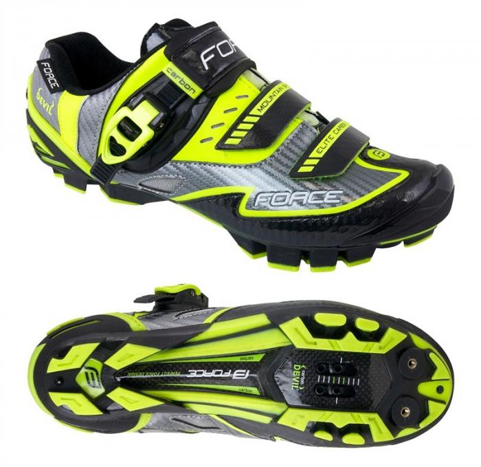 Pantofi Force MTB Carbon Devil fluo 45 [0]