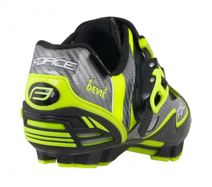 Pantofi Force MTB Carbon Devil fluo 45 [4]