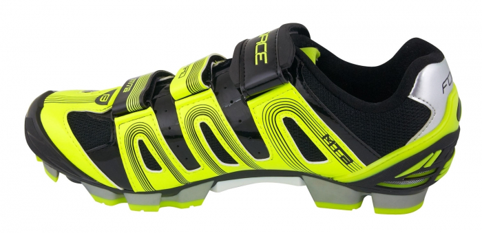Pantofi Force MTB Hard negru/fluo 45 [2]