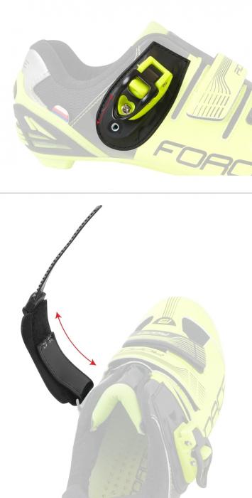 Pantofi Force MTB Hard negru/fluo 45 [5]