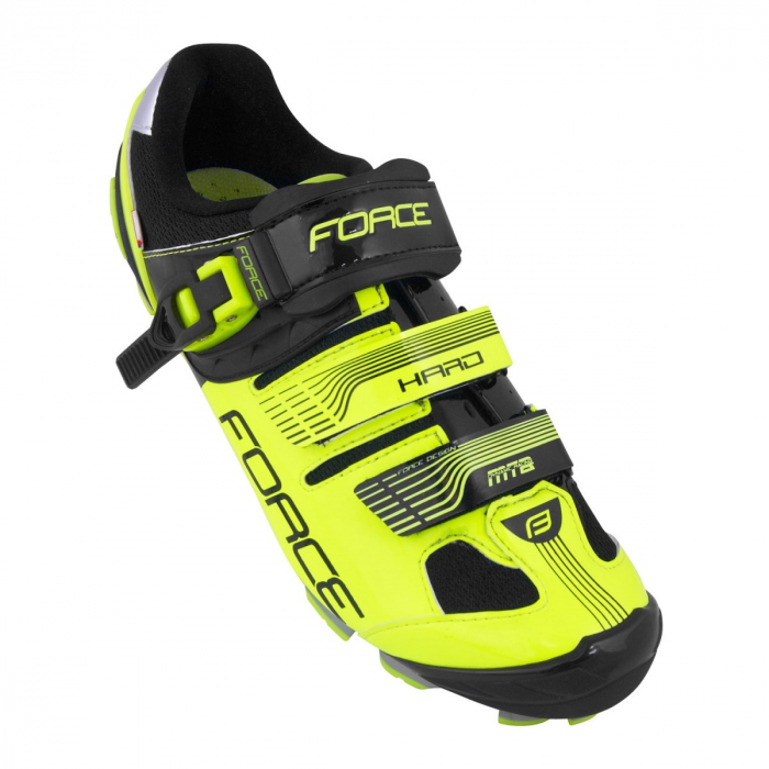 Pantofi Force MTB Hard negru/fluo 45 [1]