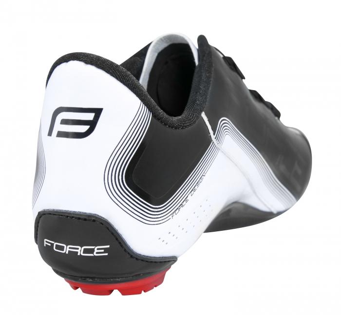 Pantofi Force Road Light Carbon alb/negru 46 [9]