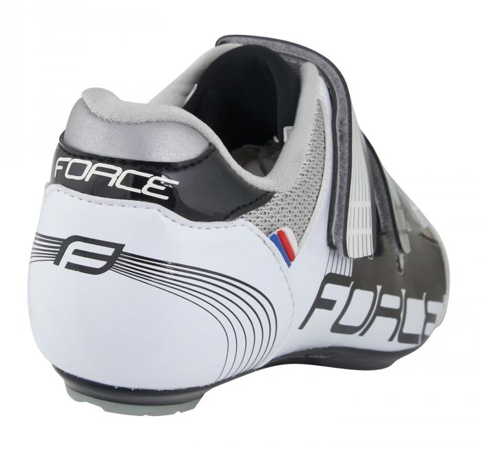 Pantofi Force Spike Road negru/alb 40 [3]