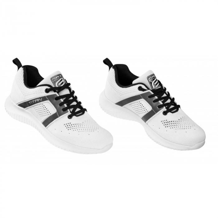 Pantofi sneakers Force Titan, alb, 43 [0]