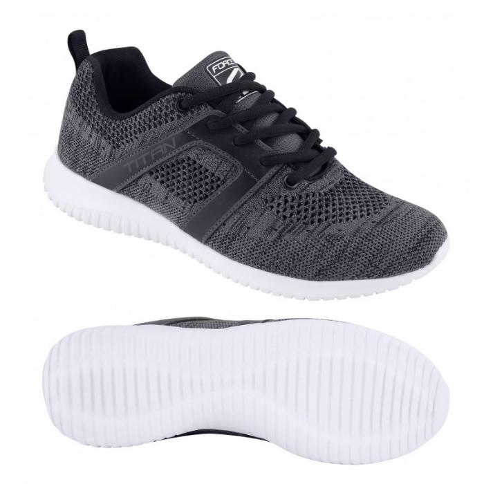 Pantofi Sneakers Force Titan gri 42 [1]