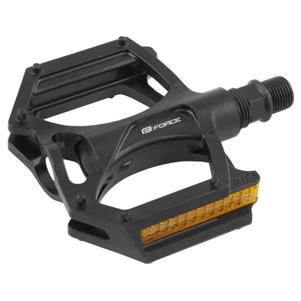 Pedale Force BMX aluminiu negre [0]