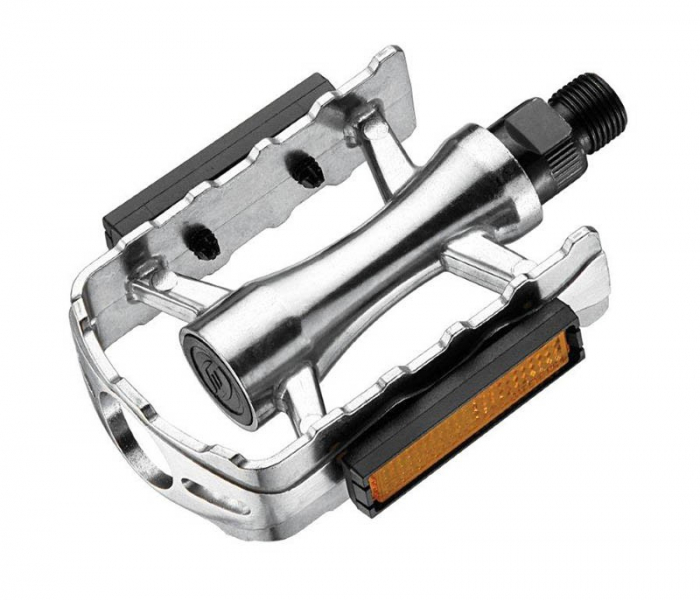 Pedale Union SP-510 aluminiu 9/16 rulment cu reflector [0]