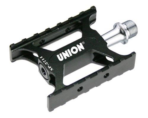 Pedale Union SP-2714 Aluminiu Extrudat+CNC Ax Cr-Mo Rulmenti Negru [0]