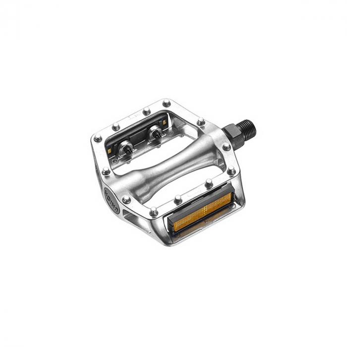 Pedale Union SP-102S 1-piece aluminiu Argintii AM filet 9/16 [0]