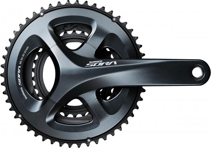 Angrenaj pedalier Shimano Sora FC-R3030 2x9 50/34 175mm ambalat [0]