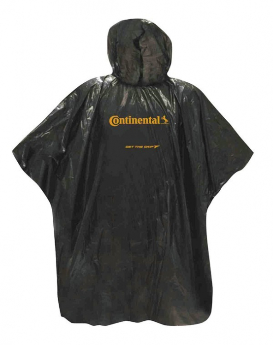 Pelerina de ploaie Continental neagra [0]