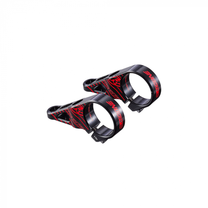 Pipa direct mount Reverse Black One negru/rosu [0]
