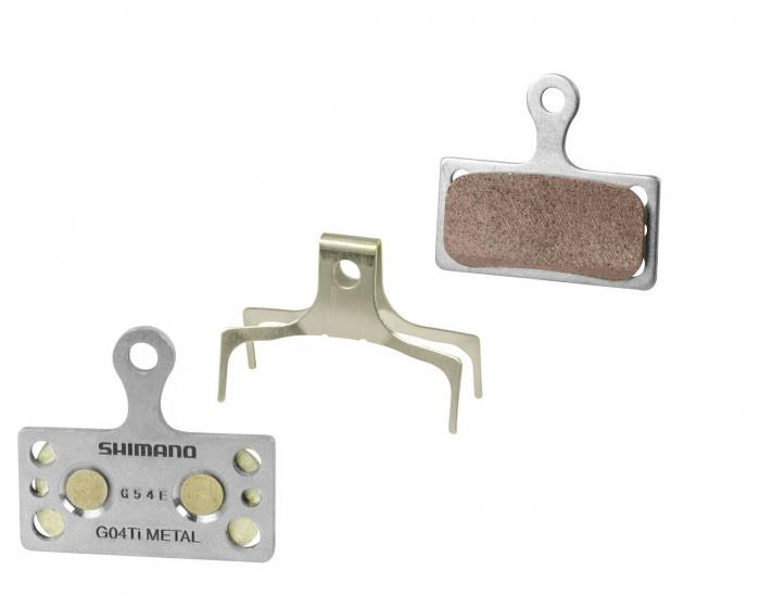 Placute frana Shimano G04Ti metalice cu arc [0]