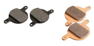 Placute Frana Disc Semi-Metalice Fibrax ASH968, Magura Julie [0]