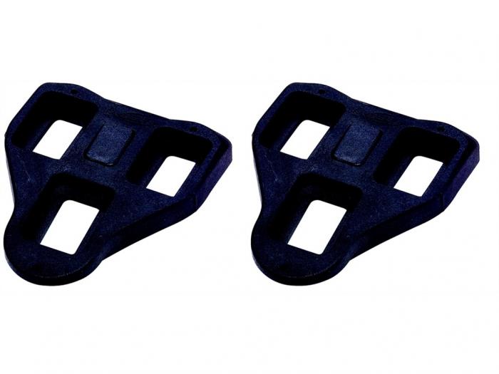 Placute pedale BBB BPD-02F RoadClip compatibile Look Delta 0 Grade Negru [0]