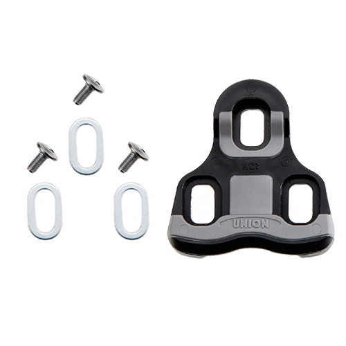 Placute pedale Union URK-0 sosea, plastic negru/gri 0 grade sistem Look Keo [0]