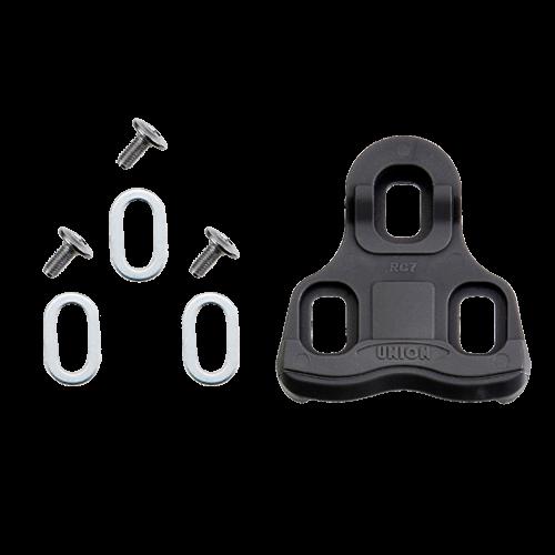 Placute pedale Union URK-9 sosea, plastic negru 9 grade sistem Look Keo [0]