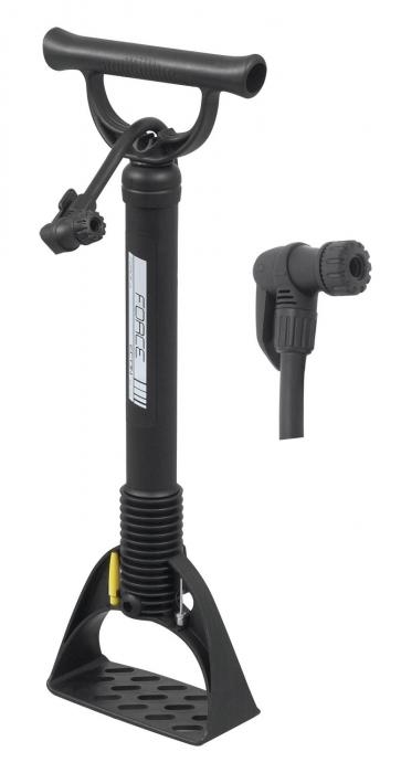Pompa podea Force Easy Econ plastic negru [0]