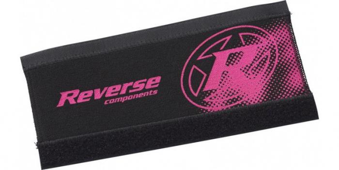 Protectie Reverse pentru cadru neopren negru/roz [0]