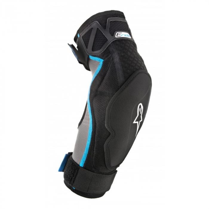 Protectii Coate Alpinestars E-Ride Elbow Protector Negru/Albastru L/XL [0]