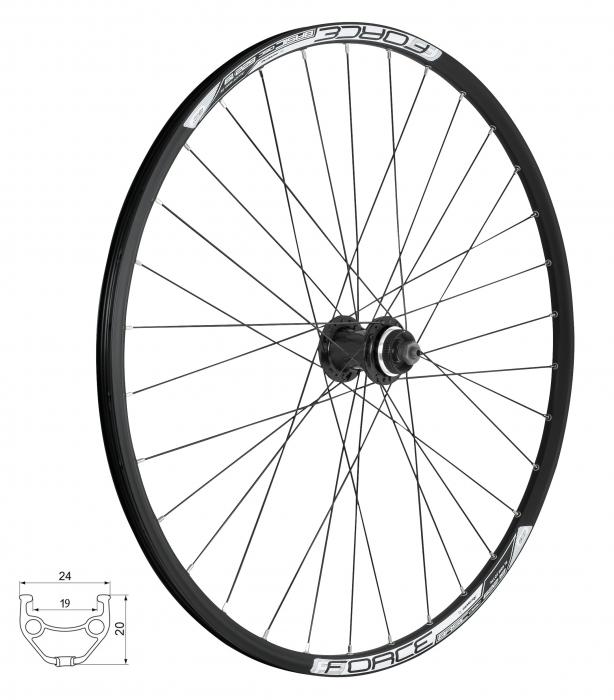 Roata fata 28/29 Force Basic Disc 622x19 centerlock [0]