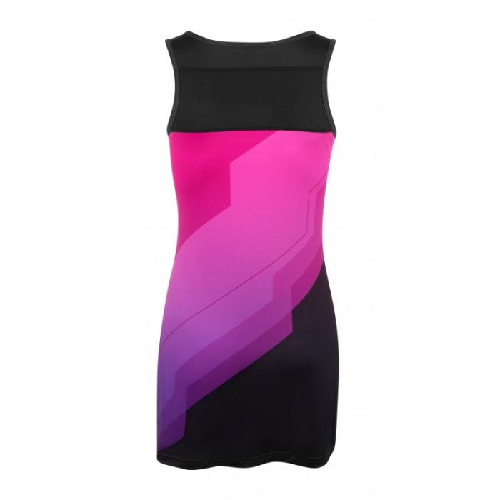 Rochie sport Force Abby roz/negru L [1]