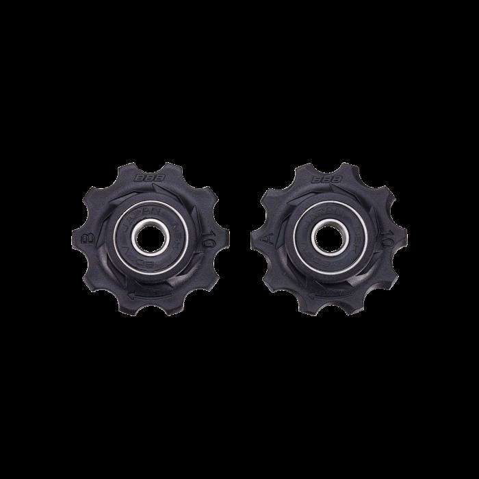 Rotite schimbator BBB BDP-0101 RollerBoys 10T negre rulment [1]