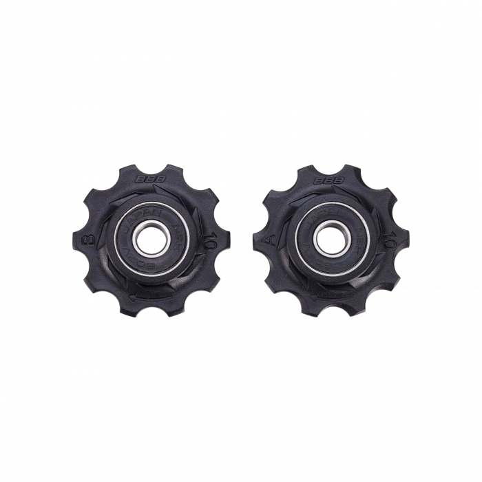 Rotite schimbator BBB BDP-0101 RollerBoys 10T negre rulment [0]
