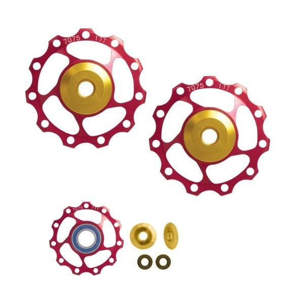 Rotite schimbator Force AL 11T, rulmenti ceramici, rosii [0]