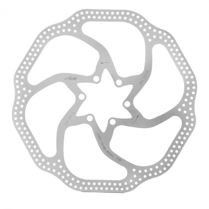 Disc frana Avid Heat Shedding 200mm, 6 suruburi, argintiu [0]