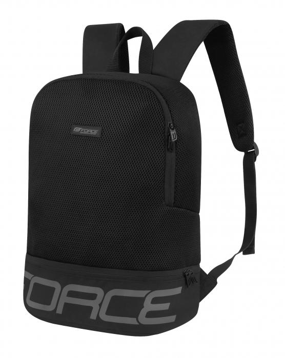 Rucsac Force Amager 20L negru/gri [0]