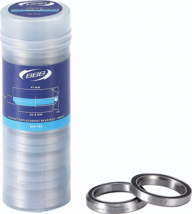 Rulment cuvetarie BBB BHP-182 1 1/8 41x6.5 CrMo 36x45 MR122 [0]