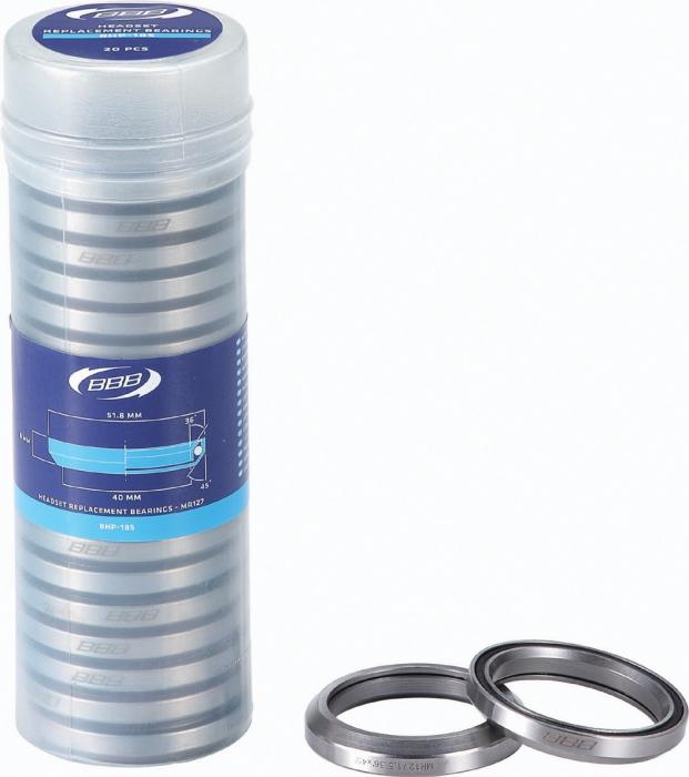 Rulment cuvetarie BBB BHP-185 1.5 51.8x8 CrMo 36x45 MR127 [0]