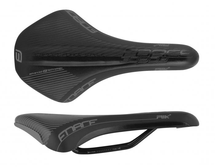 Sa bicicleta Force Rik+ Sport, Negru Mat/lucios [0]