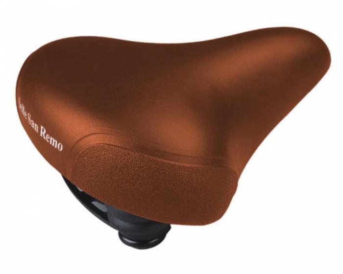Sa bicicleta Selle san Remo SSR-3220 Xerama City Confort Maro [0]