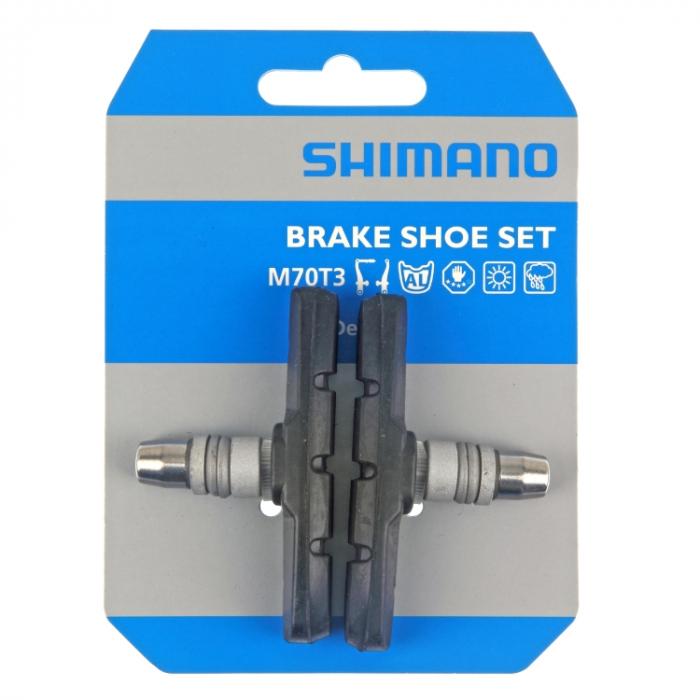 Saboti frana Shimano BR-M530 (M70T3), V-brake, 1 pereche [1]