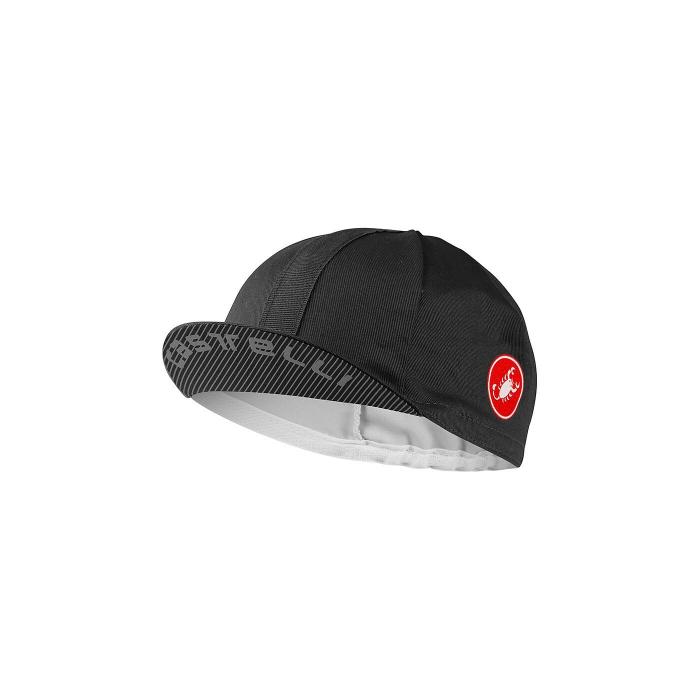Sapca ciclism Castelli Espresso Cap Black [0]