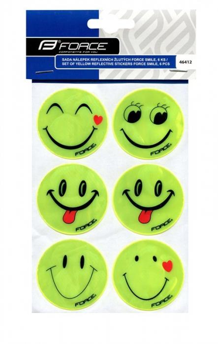 Set autocolante reflectorizante Force Smile 6 bucati [0]