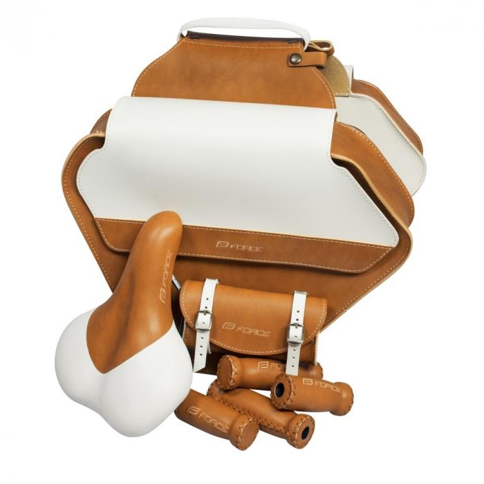 Set Bristol retro sa-geanta portbagaj-gripuri maro [0]