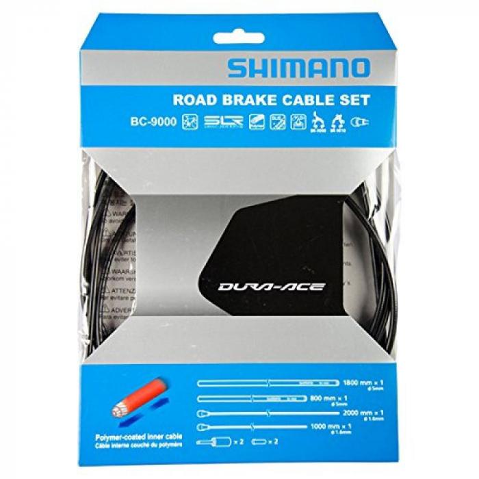 Set cabluri si camasi frana Shimano Dura-Ace BC-9000 camasa gri [0]