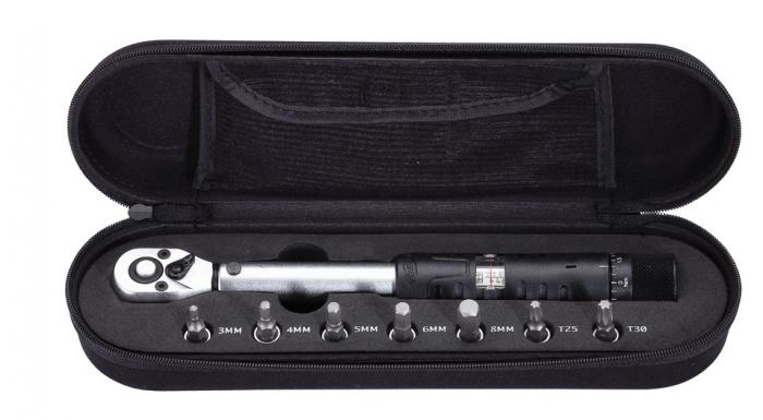 Set cheie dinamometrica BBB TorqueSet negru BTL-7301 [0]