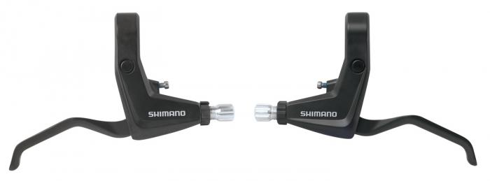 Set manete de frana v-brake Shimano BL-T400, negru [0]