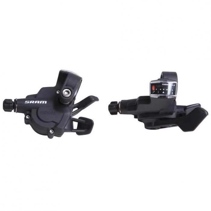 Manete schimbator SRAM X3 Trigger negru 3x7 viteze [0]