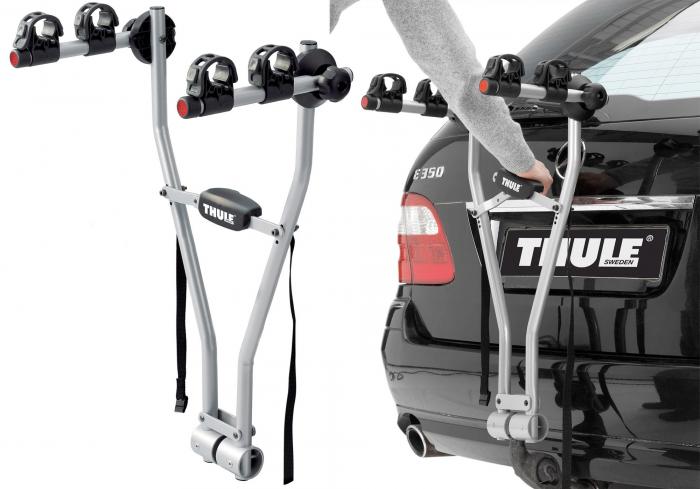 Sistem de transport biciclete pe carligul de remorcare Thule Xpress 970, 2 biciclete [4]
