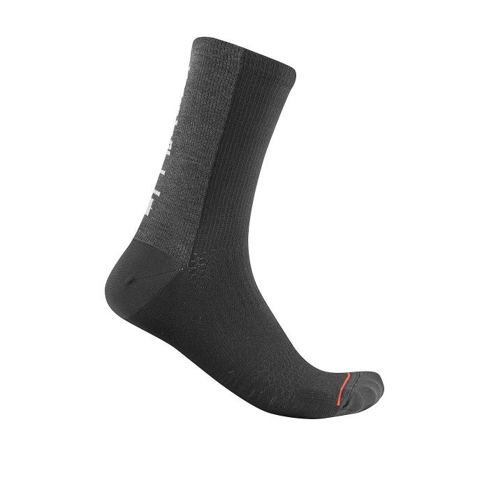 Sosete Castelli Bandito Wool 18 Negre S/M 36-39 [0]