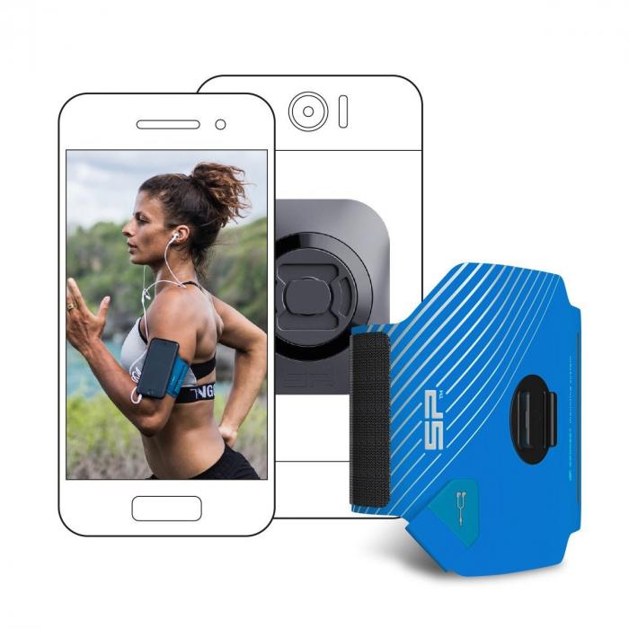Suport telefon universal cu centura brat pentru alergare SP Connect Fitness Bundle Universal Interface [0]
