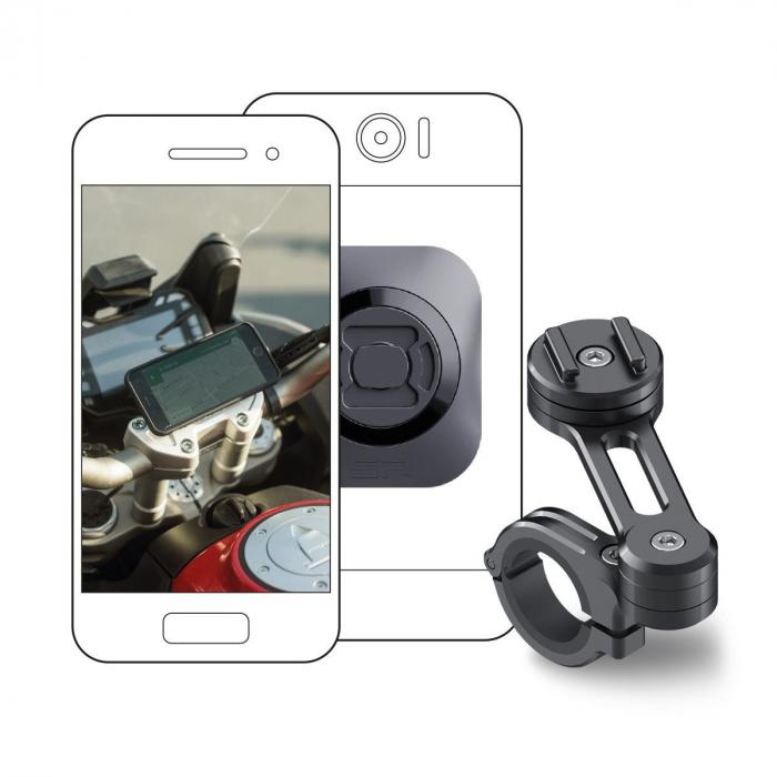Suport telefon SP Connect Moto Bundle Universal Interface [0]
