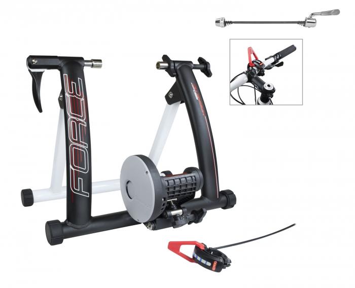 Trainer Force Magnetic 650W aluminiu negru mat [0]