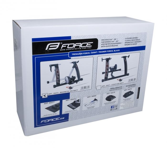 Trainer Force Magnetic 650W aluminiu negru mat [2]