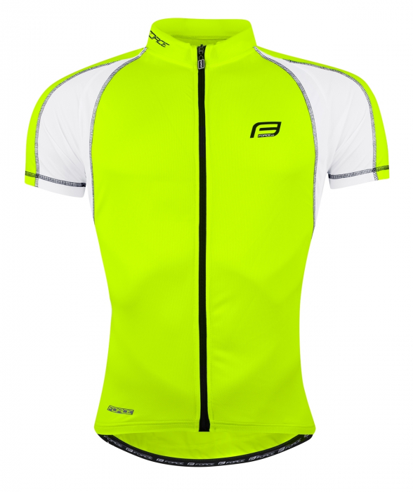 Tricou ciclism Force T10 negru/rosu XXL [5]